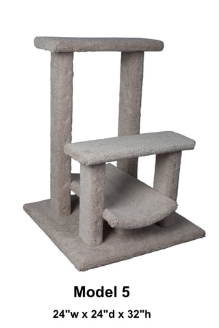 "Model 5 - 32"" Tall Cat Tree"
