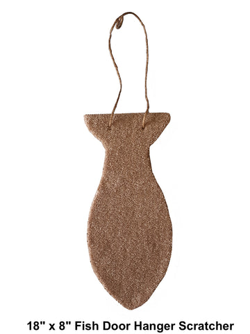 NEW PRICE! Model 45 - Fish Door Hanger Scratcher