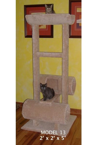 Model 13 - 5' Tall Cat Tree