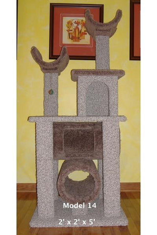 Model 14 - 5' Tall Cat Tree