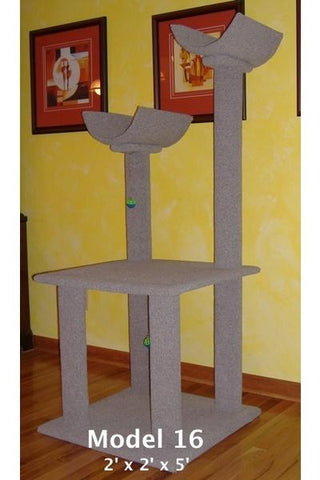 Model 16 - 5' Tall Cat Tree