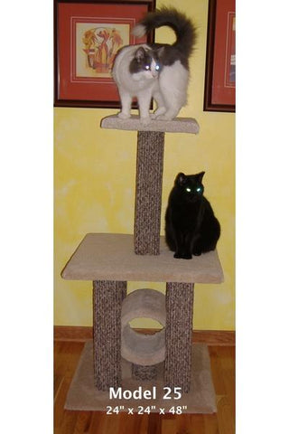 Model 25 - 4' Tall Cat Tree