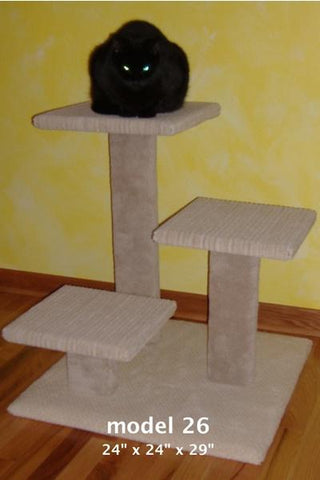 "Model 26 - 29"" Multi-Level Cat Tree"