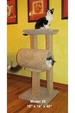 "Model 29 - 40"" Tall Cat Tree"