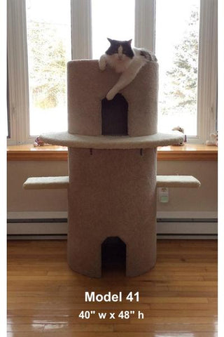 Model 41 - 4' Tall Cat Castle Play Structure