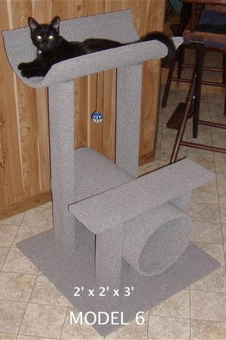 Model 6 - 3' Tall Cat Tree
