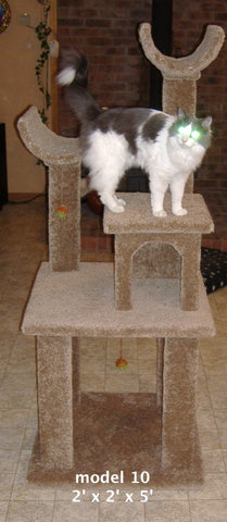 Model 10 - 5' Tall Cat Tree