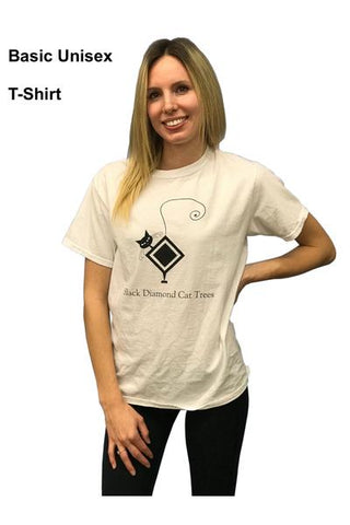 Unisex Basic White T-shirt