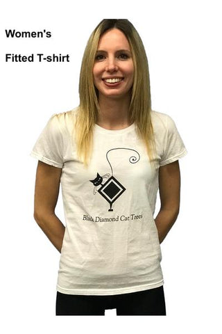 Women's Fitted White T-shirt