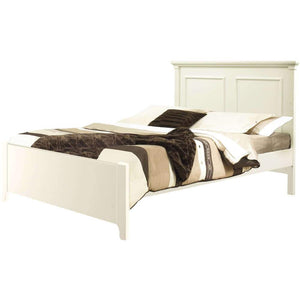 Natart Belmont Double Bed with Low-Profile Footboard & Rails