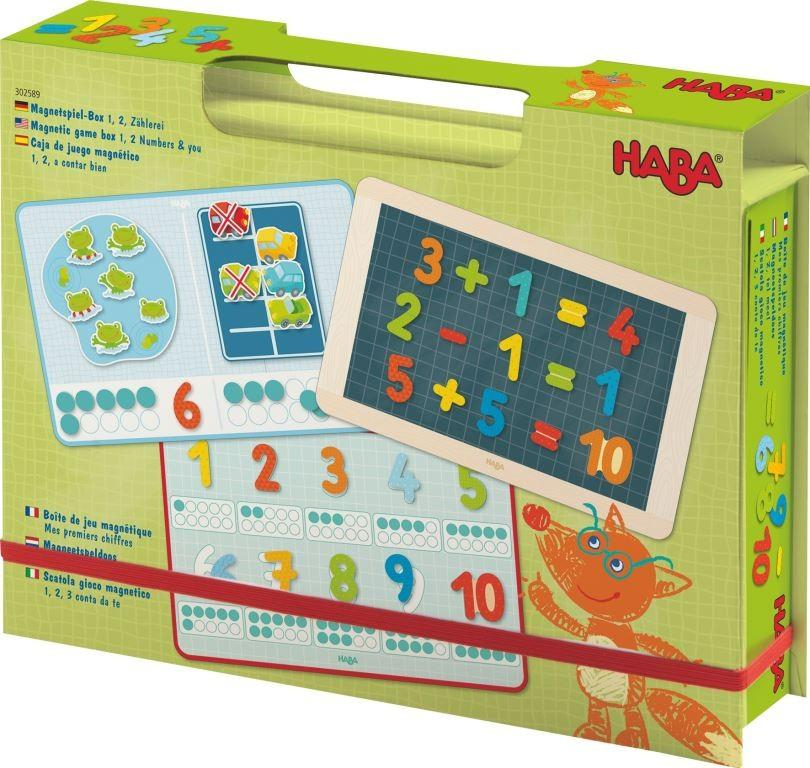 Haba Magnetic Game Box 1,2 Numbers & You