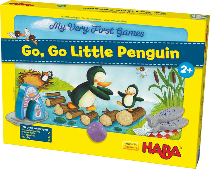 Haba My Very First Games - Go, go, little penguin!