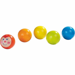 Haba My First Ball Track - 5 Piece Caterpillar Ball Set