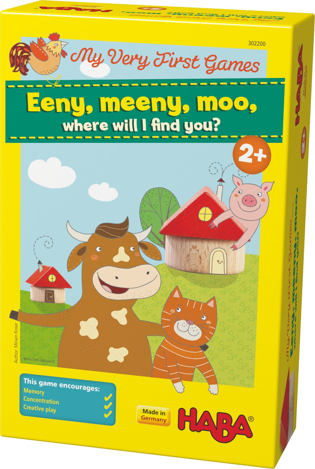 Haba My Very First Games - Eeny, meeny, moo, where will I find you?