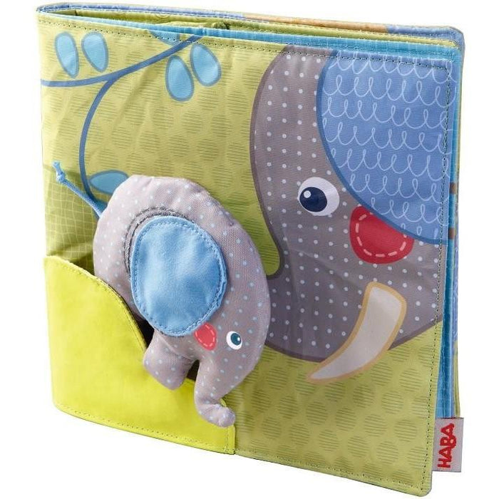 Haba Egon the Elephant Fabric Book