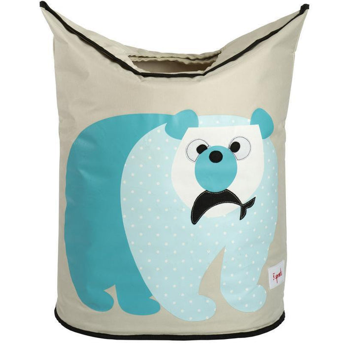 3 Sprouts Laundry Hamper Polar Bear
