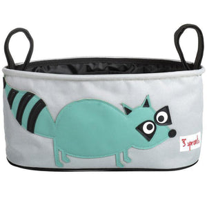 3 Sprouts Stroller Organizer Raccoon