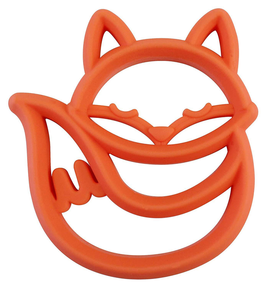 Itzy Ritzy Teething Happens Silicone Teether Fox