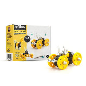 Fat Brain Toys OffBits Vehicle Yellow
