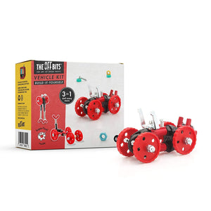 Fat Brain Toys OffBits Vehicle Red