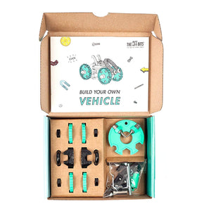 Fat Brain Toys OffBits Vehicle Green