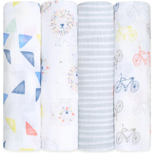 aden+anais Classic Swaddle 4-Pack