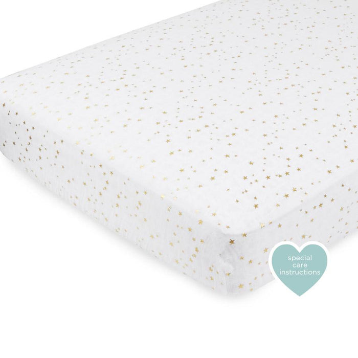 aden+anais Classic Metallic Crib Sheet