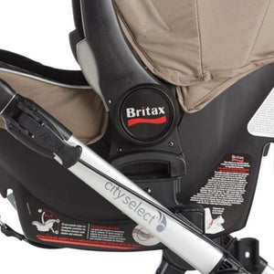 Baby Jogger City Select Infant Car Seat Adapter - Britax