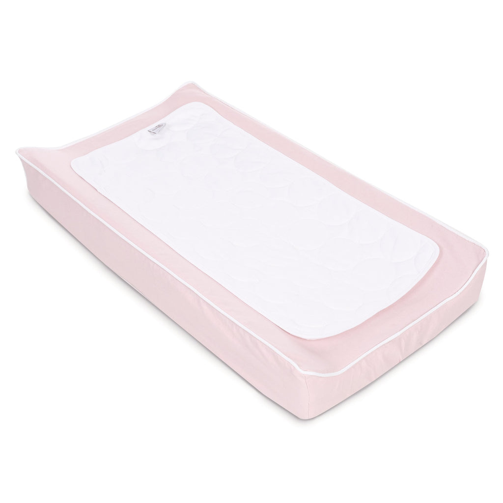 Oilo Blush Changing Pad Cover & Topper Kit