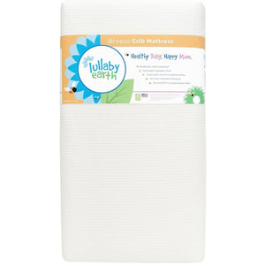 Lullaby Earth Breeze 2-Stage Crib Mattress