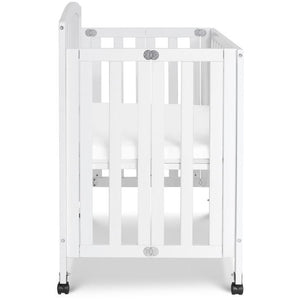 DaVinci Dylan Folding Portable 3-in-1 Mini Crib and Twin Bed