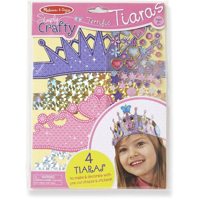 Melissa & Doug Simply Crafty Terrific Tiaras
