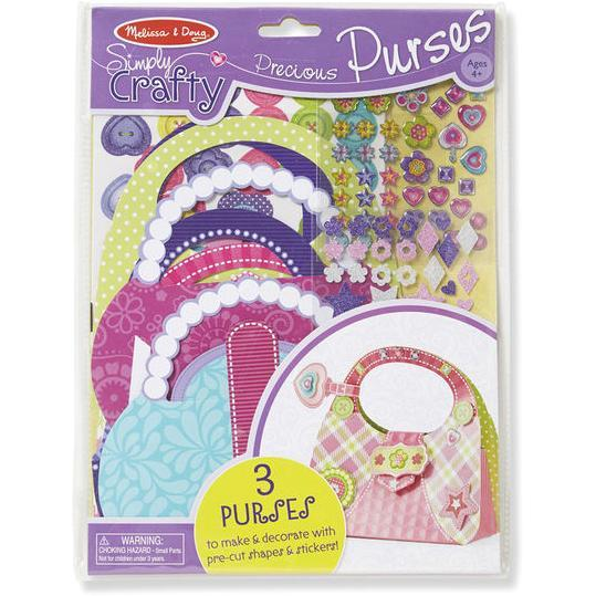 Melissa & Doug Smiply Crafty Precious Purses