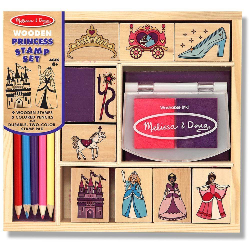 Melissa & Doug Stamp Set Princess