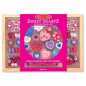 Melissa & Doug Bead Set Sweet Hearts