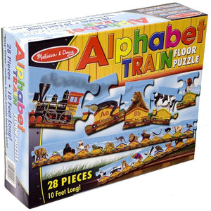 Melissa & Doug Alphabet Train Puzzle