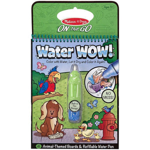 Melissa & Doug Water Wow Animals