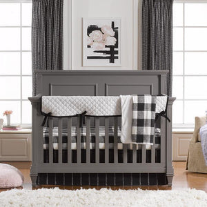Liz & Roo Modern Bumperless Crib Bedding