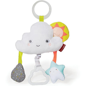 Skip Hop Silver Lining Cloud Jitter Stroller Toy
