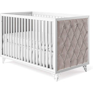 Romina Bella Classic Crib (Tufted Sides)