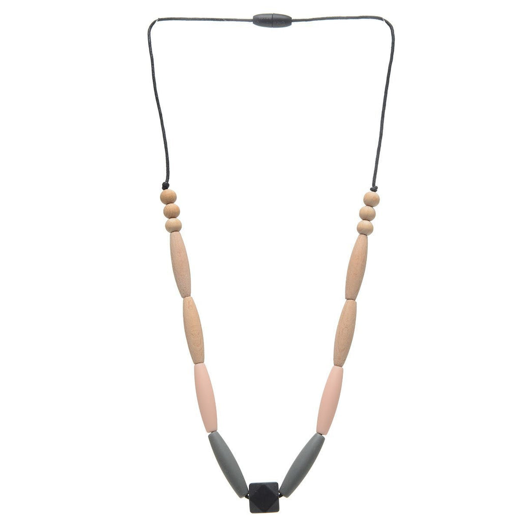 Chewbeads Brooklyn Collection Bedford Teething Necklace
