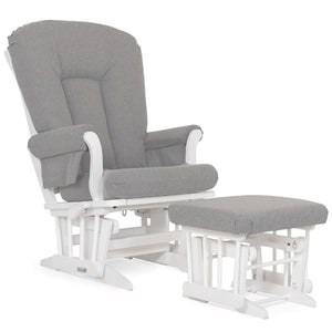 Dutailier Sleigh Glider with Multi-Position & Recline with Ottoman
