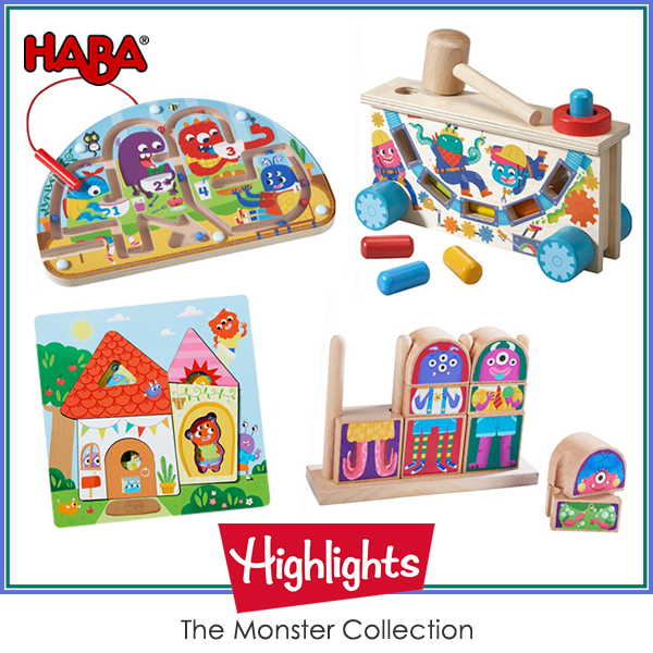 Haba Highlights - The Monster Collection Bundle