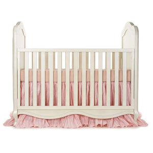 Glenna Jean Maddie 2-Piece Starter Bedding Set (Includes pink & tan check sheet & crib skirt)