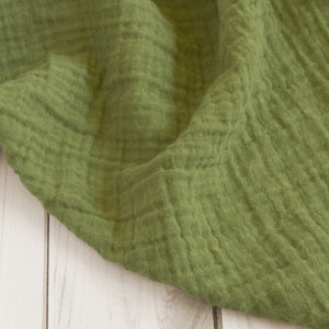 Sugar + Maple Classic Muslin Swaddle - Olive Green