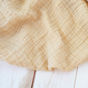 Sugar + Maple Classic Muslin Swaddle - Sand