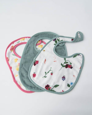 Little Unicorn Deluxe Muslin Classic Bib 3-Pack