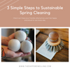 3 Simple Steps to Sustainable Spring Cleaning