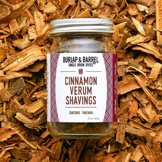 Burlap and Barrel Cinnamon Verum - Shavings