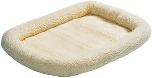 Midwest Quiet Time Natural Fleece Pet Bed